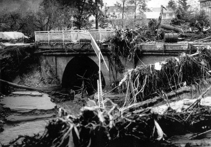 IMMAGINE dell'alluvione del 1994 ad ALBA